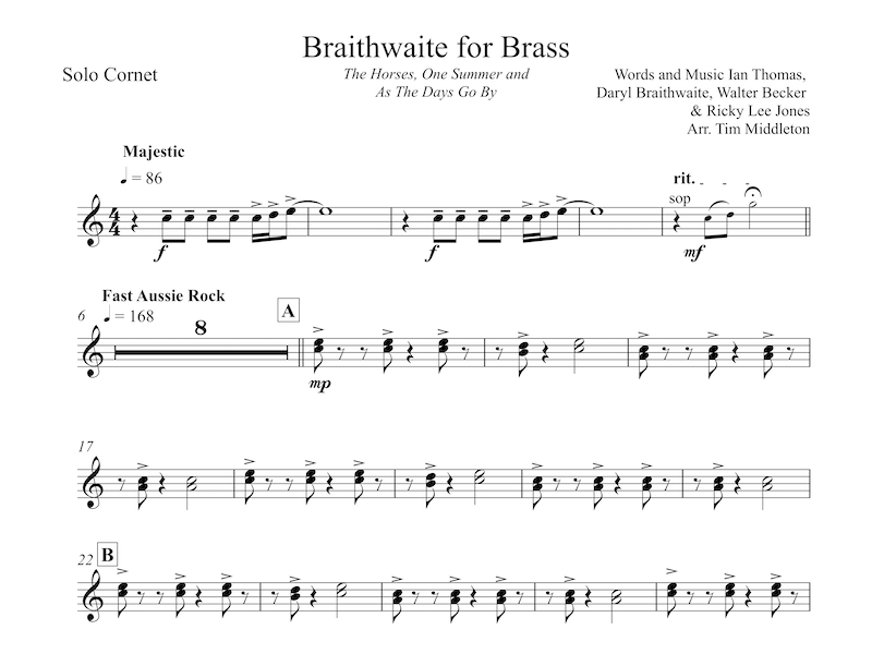 Braithwaite for Brass